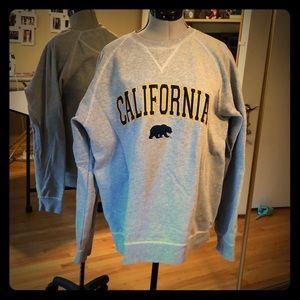 Sweaters - California Cal Berkeley Crewneck Sweatshirt L